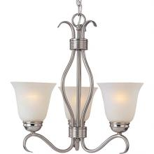 Maxim 10123ICSN - Basix 3-Light Chandelier