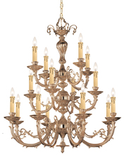 Crystorama 490-OB - Crystorama Etta 16 Light Olde Brass Chandelier