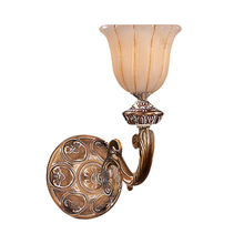 Crystorama 891-WH - Crystorama 1 Light French White Sconce