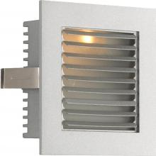 Alico WLE-104 - Stelight LED For New Construction With Opal Louvre And Grey Trim