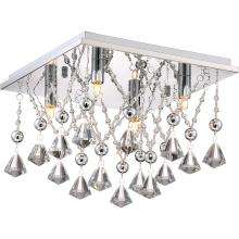 Quoizel PCCD1613C - Platinum Collection Crystal Drape Flush Mount