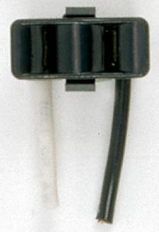 "2 Wire Snap-In Convenience Outlet, Opening Size: 1 1/8"" x 1/2"" x 7/8""  Rated: 15A-125V"