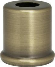 "Satco Products Inc. 90/2279 - Steel Spacers 7/16"" Hole-1"" Height 7/8"" Dia.-1"" Base Dia. Ant. Brass"