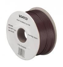 Satco Products Inc. 93/188 - 20/2 PLT 105°C Wire 250 Ft./Spool