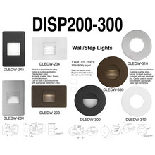 Dainolite DISP200-300 - Display-DLEDW200/300 Series with Lights