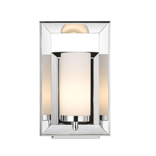 Golden 2074-BA1 CH - 1 Light Bath Vanity (Chrome & Opal Glass)