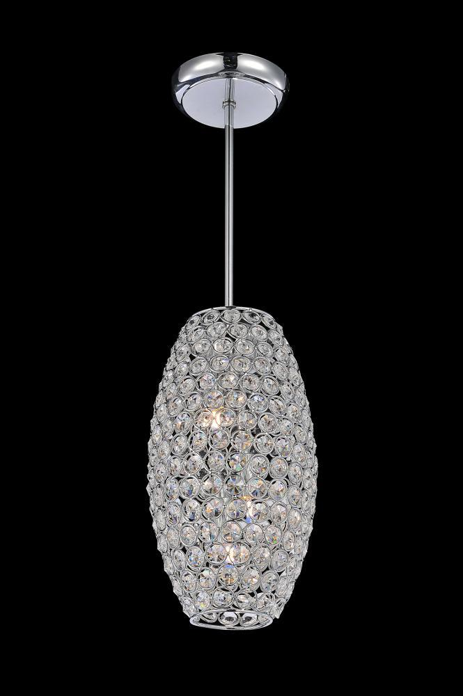 2 Light Chrome  Mini Chandelier from our Sage collection