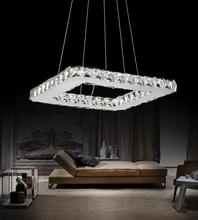 Crystal World 5080P15ST-S - LED  Chandelier with Chrome finish