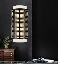 Crystal World 5209W6B - 2 Light Black Wall Light from our Checkered collection
