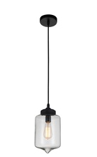 Crystal World 5570P7C - Clear - 1 Light Down Mini Pendant with Transparent finish