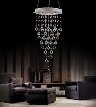 Crystal World 6640P18C-O - 3 Light Down Chandelier with Chrome finish