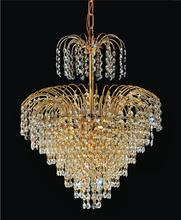 Crystal World 8011P14G - 7 Light  Chandelier with Gold finish