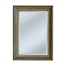 Mirror Masters (Yellow) MW4049-0022 - Carved Ripple Pattern Frame GIVes This Model A Casual Look