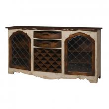 Guild Masters (Stocking) 600027 - Credenza With Wine Storage