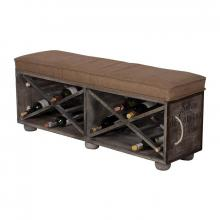 Guild Masters (Stocking) 652507 - Lg Wine Crate Ottoman