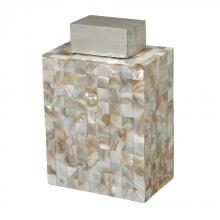 Sterling Industries 112-1126 - Bolton-Mother Of Pearl Jar