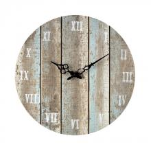 Sterling Industries 128-1009 - Wooden Roman Numeral Outdoor Wall Clock