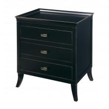 Sterling Industries 6041302 - Tamara 3-Drawer Chest In Ebony