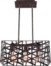 Artcraft JA823 - Three Light Bronze Island Light
