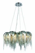 Elegant 1505D31C - 1505 Blythe Collection Chandelier D:31in H:16in Lt:8 Chrome Finish