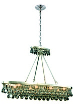 Elegant 1509G44PN - 1509 Bettina Colloection Pendant L:44 in W:13in H:31in Lt:8 Polished Nickel Finish (Royal Cut Crysta