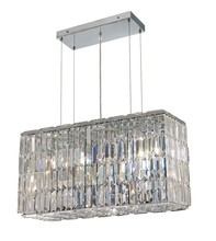 Elegant 2018D26C/RC - 2018 Maxime Colloection Chandelier L:26 in W:9in H:13in Lt:8 Chrome Finish (Royal Cut Crystals)
