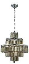 Elegant 2038D20C-GT/SS - 2038 Maxime Collection Chandelier D:20in H:21in Lt:13 Chrome Finish (Swarovski� Elements Crystals)