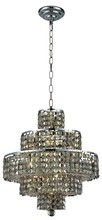 Elegant 2039D20C-GT/SS - 2039 Maxime Collection Chandelier D:20in H:21in Lt:13 Chrome Finish (Swarovski� Elements Crystals)