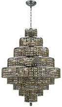Elegant 2039D30C-GT/SS - 2039 Maxime Collection Chandelier D:30in H:41in Lt:20 Chrome Finish (Swarovski� Elements Crystals)