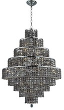 Elegant 2039D30C-SS/SS - 2039 Maxime Collection Chandelier D:30in H:41in Lt:20 Chrome Finish (Swarovski� Elements Crystals)
