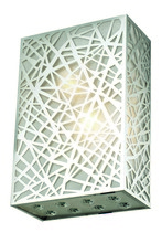 Elegant 2078W8C/RC - 2078 Prism Collection Wall Sconce L:8in W:4in H:12in Lt:2 Chrome Finish (Royal Cut Crystals)
