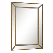 Elegant MR-3315 - Modern 32 in. Contemporary Mirror in Gold leaf
