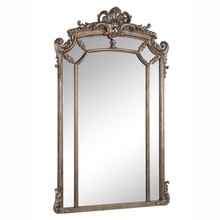 Elegant MR-3354 - Antique 30 in. Contemporary Mirror in Antique Silver leaf