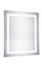 "Elegant MRE-6001 - LED Electric Mirror Rectangle W20""H30"" Dimmable 5000K"