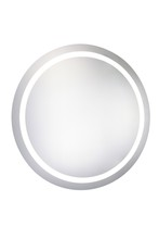 "Elegant MRE-6005 - LED Electric Mirror Round D30"" Dimmable 5000K"