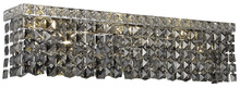 Elegant V2033W18C-SS/SS - 2033 Maxime Collection Wall Sconce L:18in W:4.5in H:6.25in Lt:3 Chrome Finish (Swarovski� Elements C