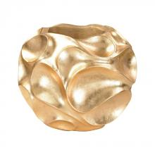 Dimond 9166-026 - Wave Texture Vessel In Gold