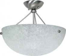 Nuvo 60/132 - South Beach 3 Light Semi Flush