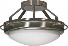 "Nuvo 60/609 - Polaris 2 Light 14"" Semi Flush"