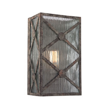 ELK Lighting 32120/1 - Radley 1 Light Wall Sconce In Malted Rust